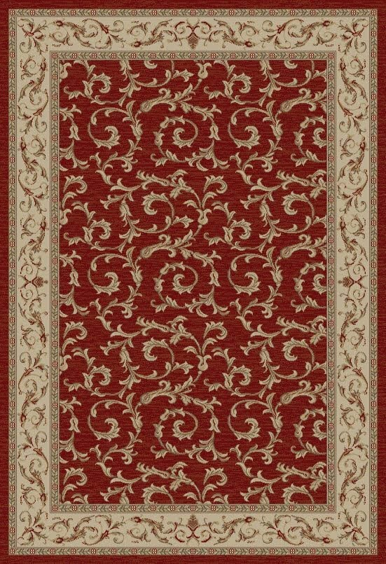 Red (4390) Traditional / Oriental Area Rug