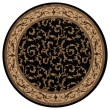 Product Image of Black (4393) Traditional / Oriental Area Rug
