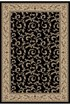 Product Image of Traditional / Oriental Black (4393) Area Rug