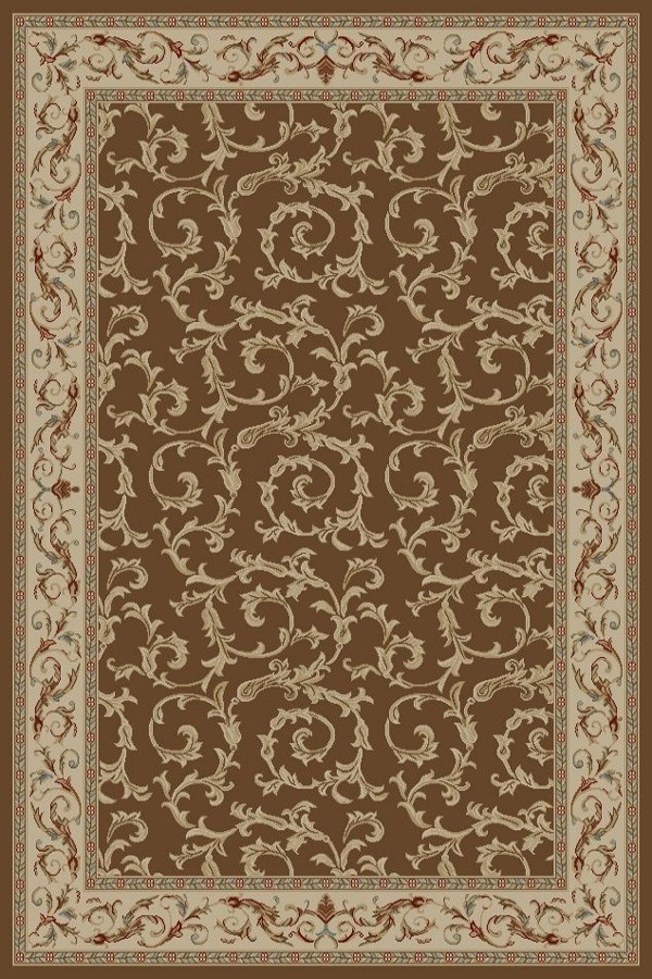 Brown (4398) Traditional / Oriental Area Rug