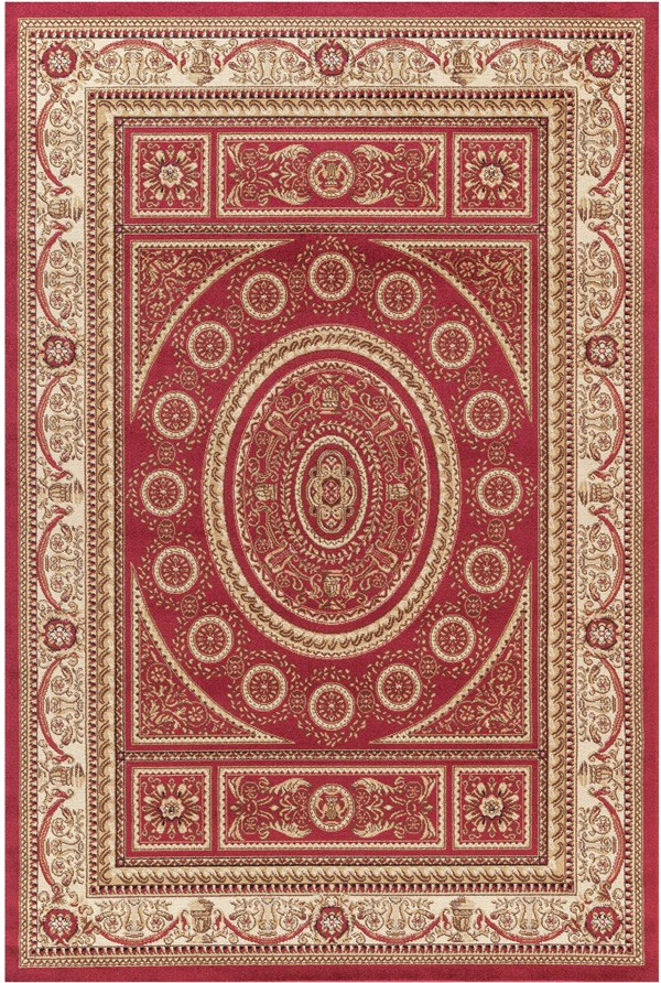 Red (4410) Traditional / Oriental Area Rug