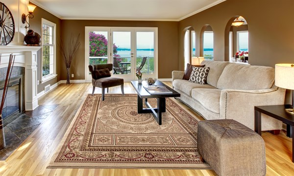 Ivory (4412) Traditional / Oriental Area Rug