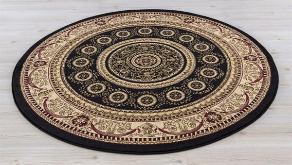 Black (4413) Traditional / Oriental Area Rug