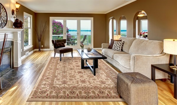Ivory (4442) Traditional / Oriental Area Rug