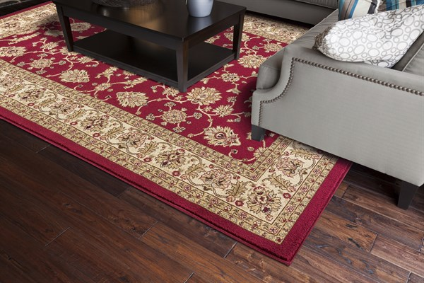 Red (4440) Traditional / Oriental Area Rug