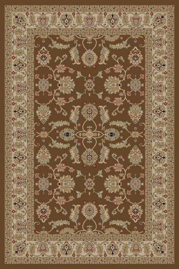 Brown (4448) Traditional / Oriental Area Rug