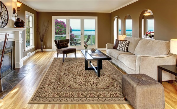 Ivory (6142) Traditional / Oriental Area Rug