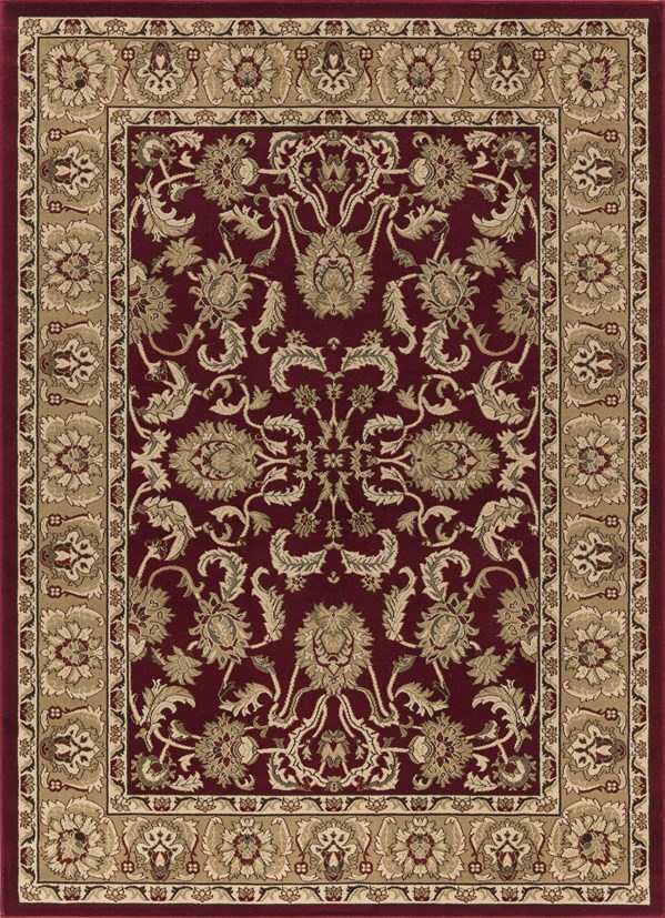 Red (6170) Traditional / Oriental Area Rug