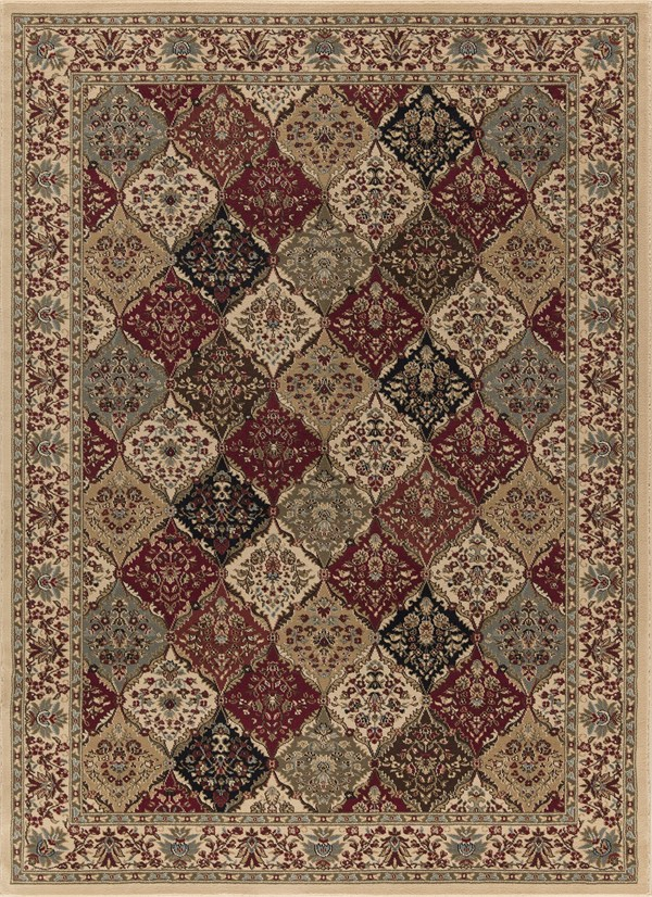 Ivory (6182) Moroccan Area Rug