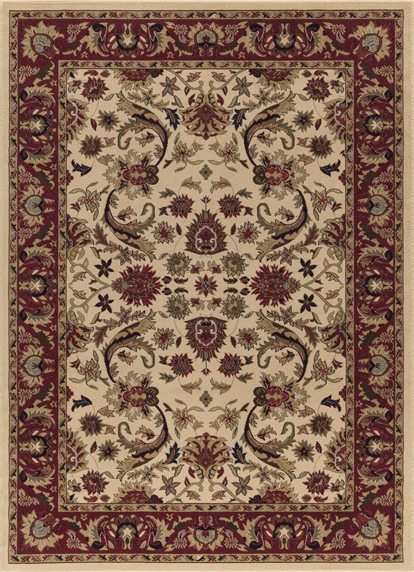 Ivory (6202) Traditional / Oriental Area Rug