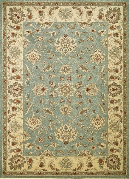 Blue (9706) Traditional / Oriental Area Rug