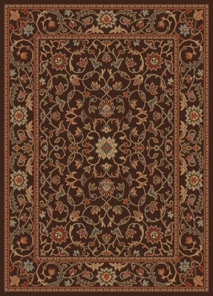 Brown (9738) Traditional / Oriental Area Rug