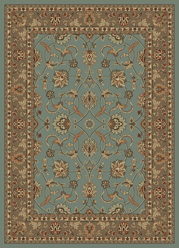 Blue (9756) Traditional / Oriental Area Rug