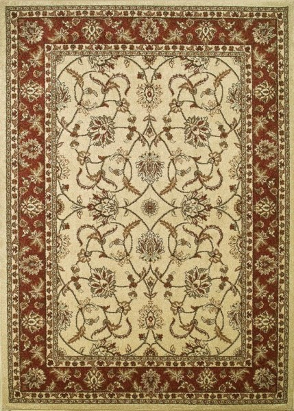 Cream (9752) Traditional / Oriental Area Rug
