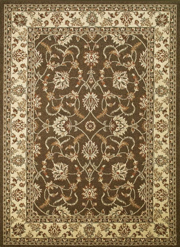 Brown (9758) Traditional / Oriental Area Rug