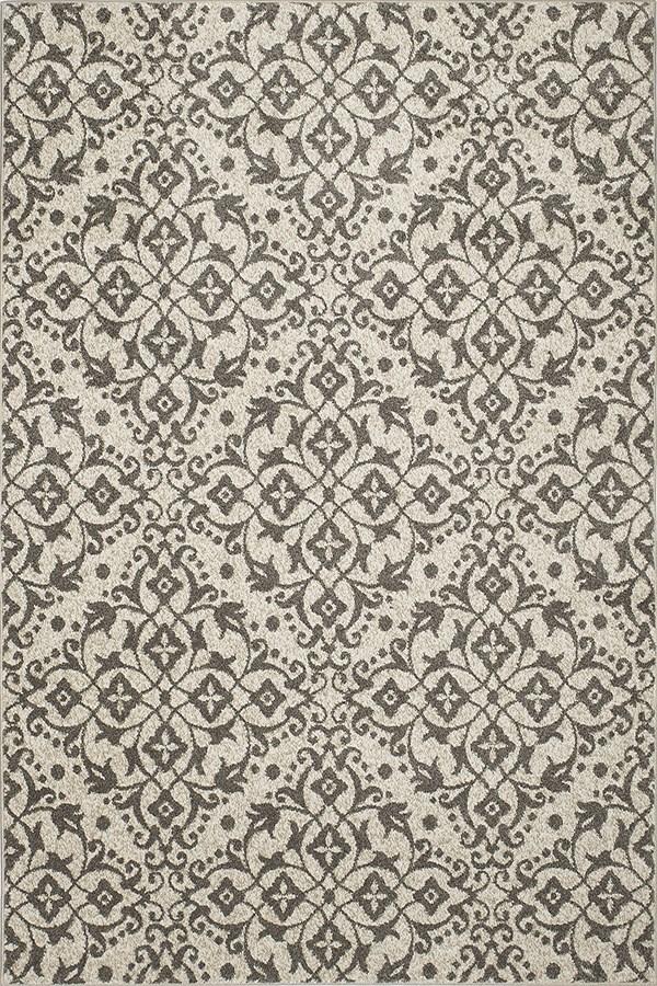 Ivory, Grey (8592) Transitional Area Rug