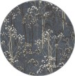 Product Image of Blue (8606) Floral / Botanical Area Rug