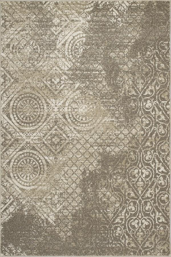 Ivory (8702) Vintage / Overdyed Area Rug