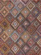 Product Image of Red, Sky Blue, Yellow (7420) Contemporary / Modern Area Rug
