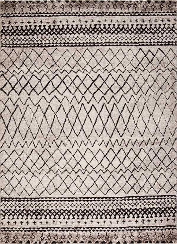 Ivory (7442) Southwestern / Lodge Area Rug