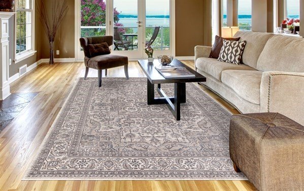 Ivory (2832) Traditional / Oriental Area Rug