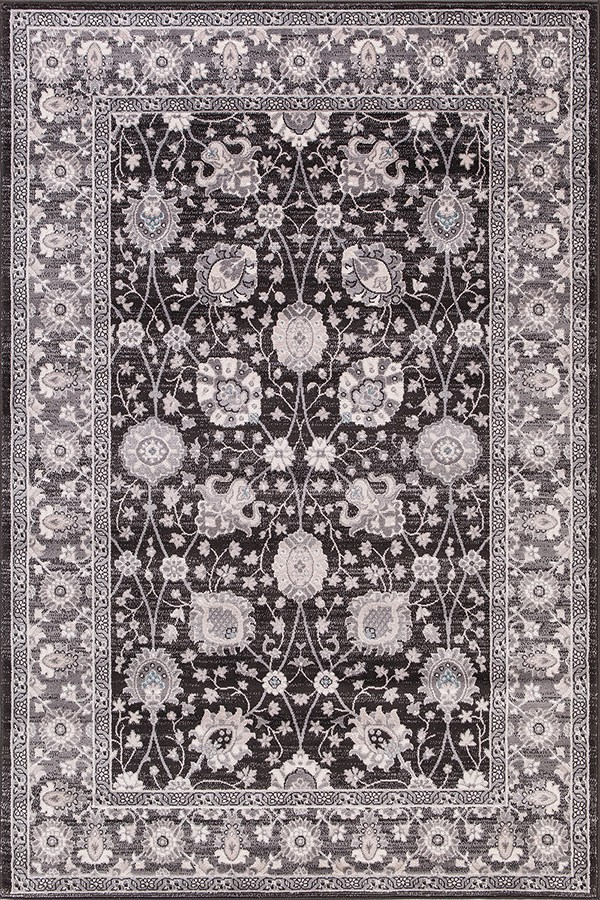 Anthracite (4533) Traditional / Oriental Area Rug