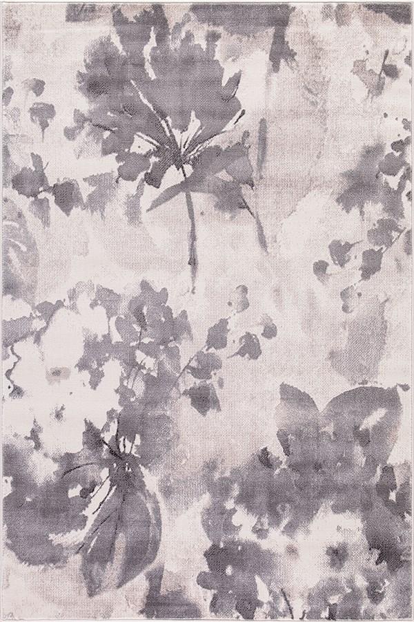 Ivory (4602) Floral / Botanical Area Rug