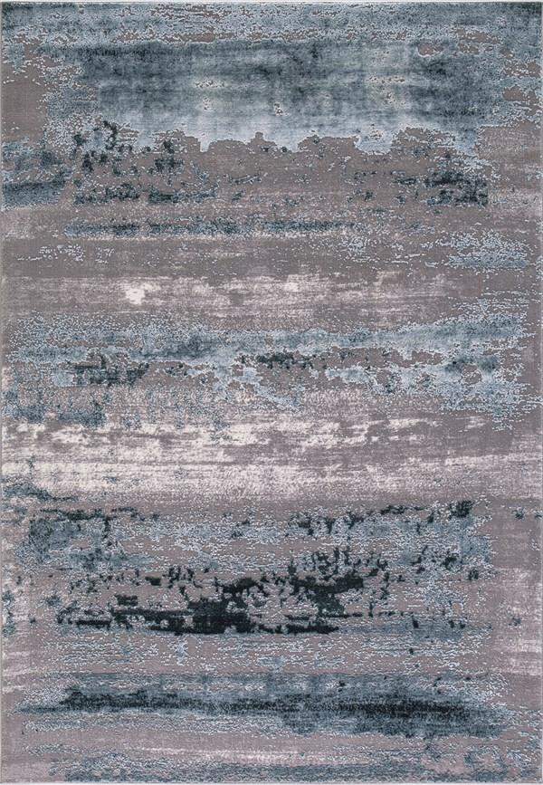Grey, Teal (2936) Transitional Area Rug