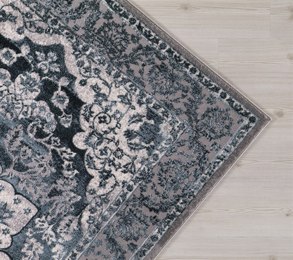 Teal (2916) Traditional / Oriental Area Rug