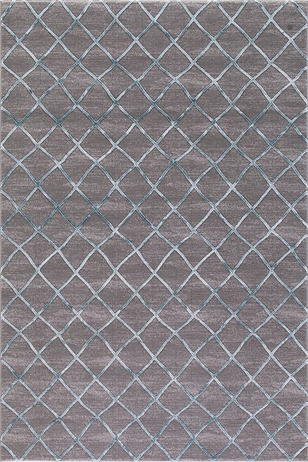 Teal, Grey (2976) Transitional Area Rug