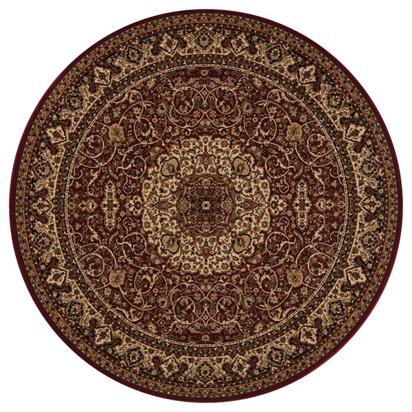 Red (2030)  Traditional / Oriental Area Rug