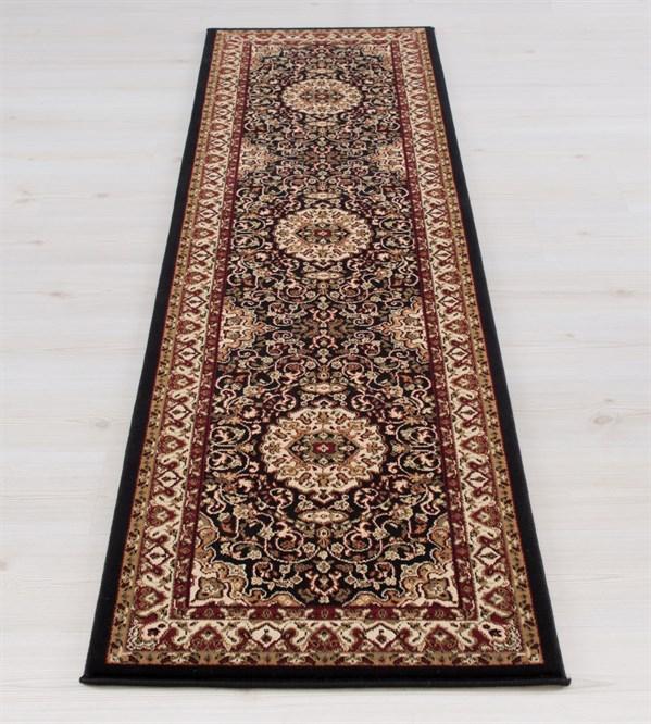 Black (2033)  Traditional / Oriental Area Rug