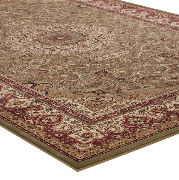 Green (2035)  Traditional / Oriental Area Rug