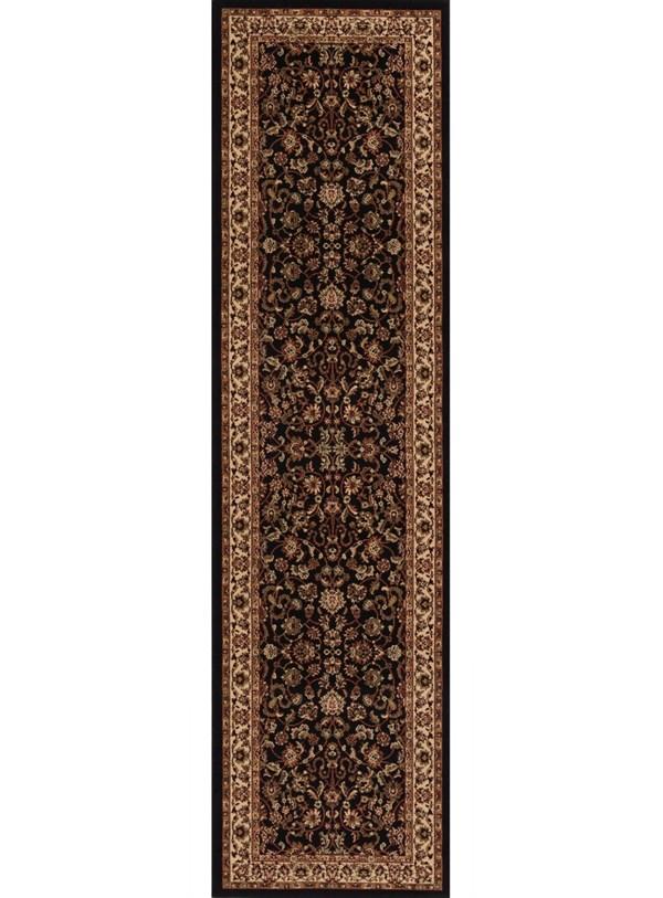 Black (2023)  Traditional / Oriental Area Rug