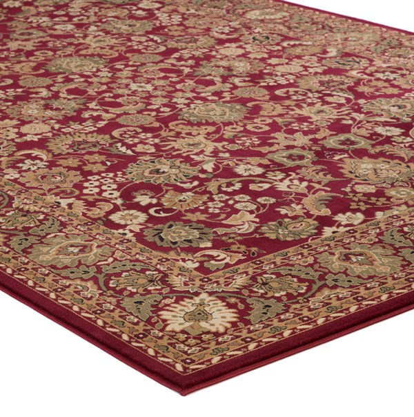 Red (2100)  Traditional / Oriental Area Rug