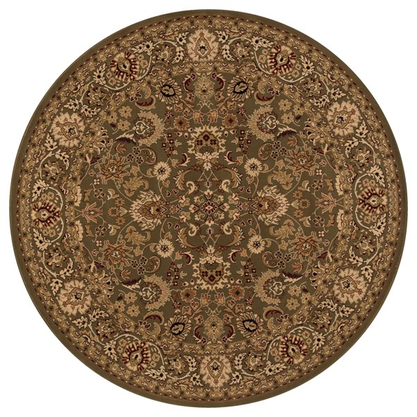 Green (2105)  Traditional / Oriental Area Rug