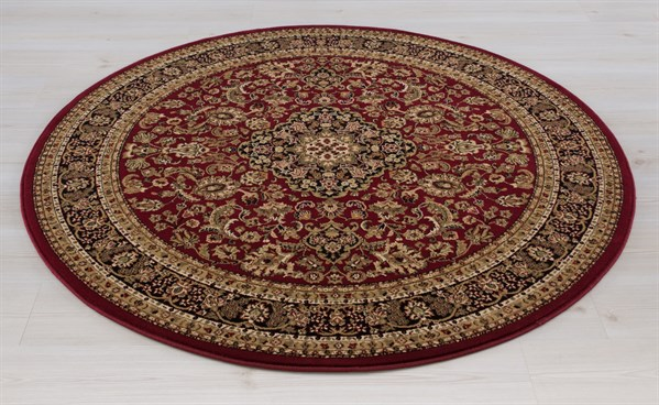 Red (2080)  Traditional / Oriental Area Rug