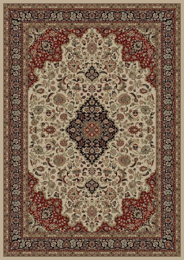 Concord Global Persian Classics Medallion Kashan Rugs
