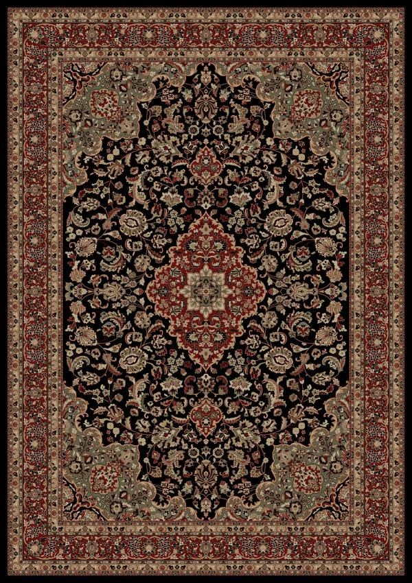 Black (2083)  Traditional / Oriental Area Rug