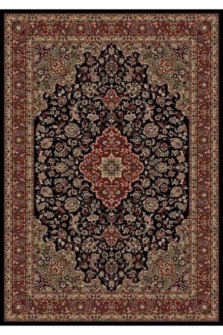 Black (2083)  Traditional / Oriental Area Rug