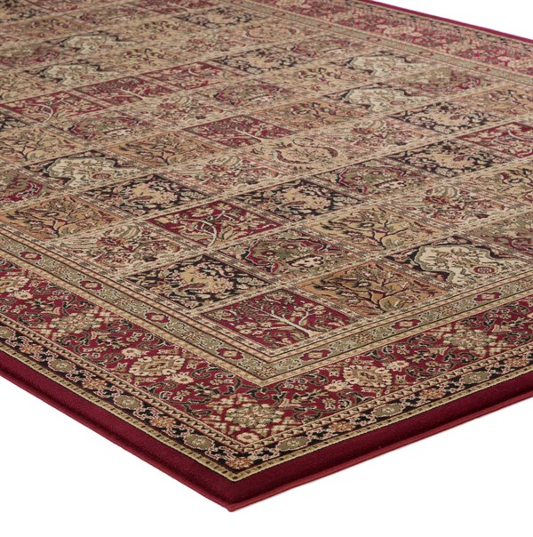 Red (2040)  Traditional / Oriental Area Rug