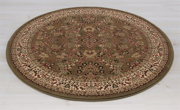 Green (2095) Traditional / Oriental Area Rug