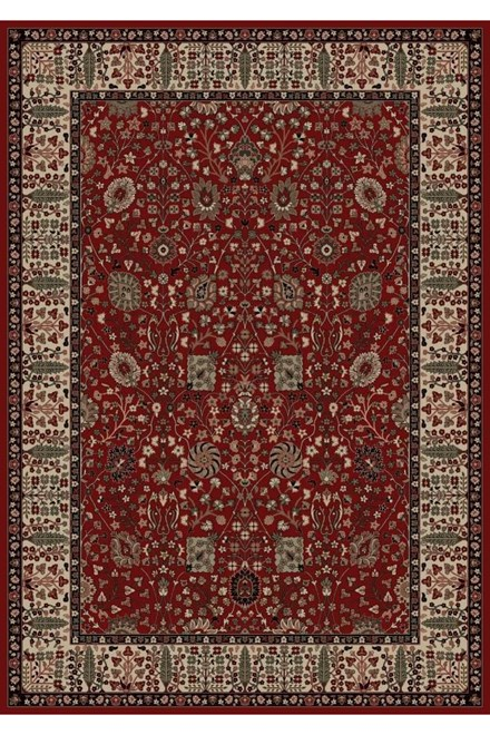 Red (2050) Traditional / Oriental Area Rug