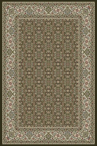 Black, Ivory (3263) Traditional / Oriental Area Rug