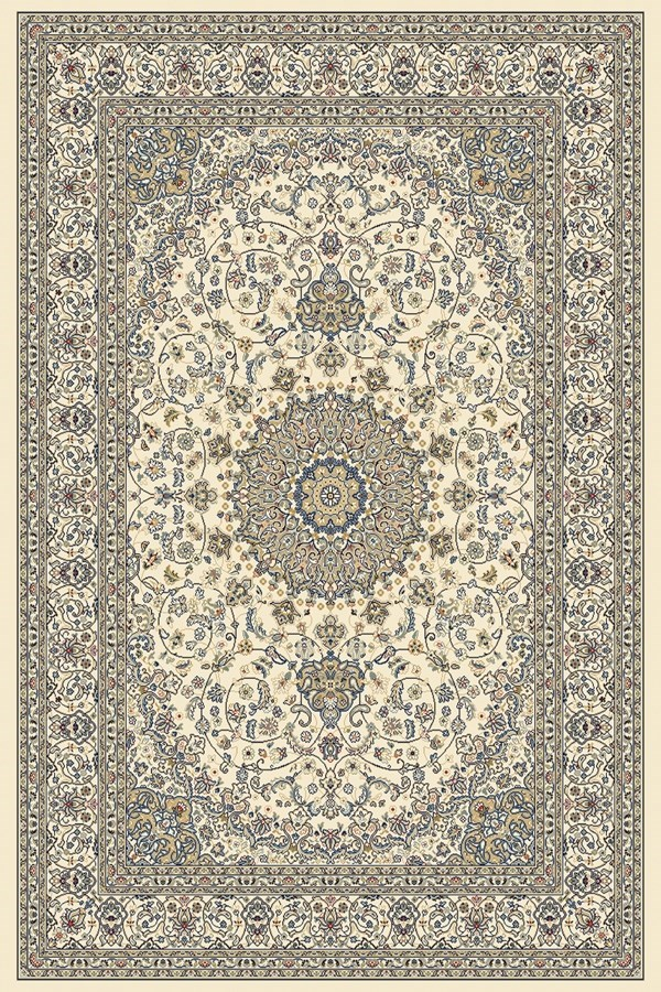 Ivory, Ivory (6464) Traditional / Oriental Area Rug