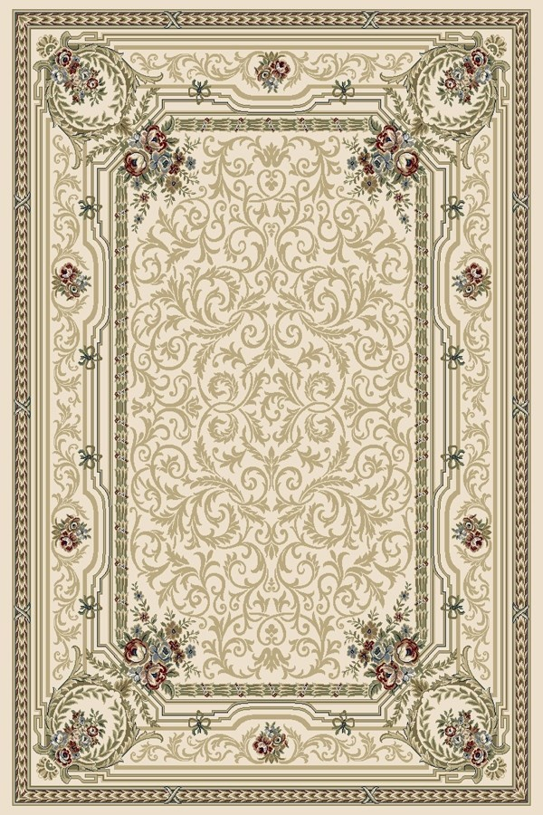 Ivory (6464) Traditional / Oriental Area Rug