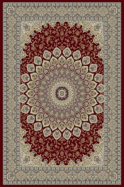 Red (1484) Traditional / Oriental Area Rug