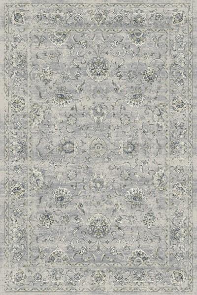 Silver, Grey (9696) Traditional / Oriental Area Rug