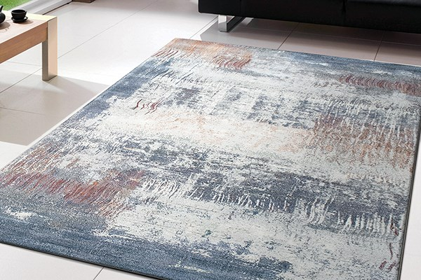 Ivory (6656) Abstract Area Rug