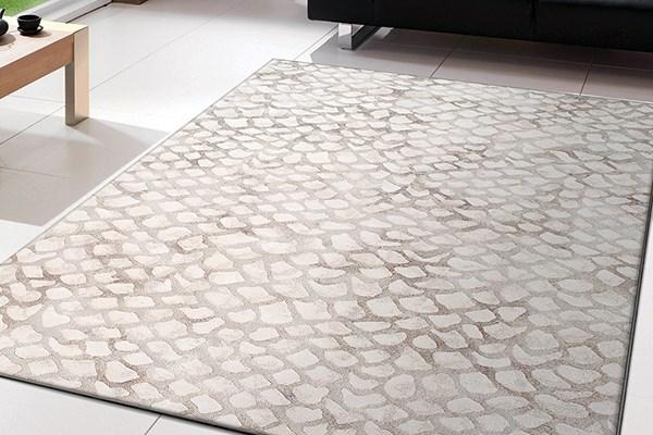 Ivory (8565) Contemporary / Modern Area Rug
